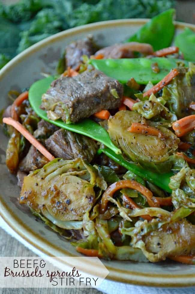 Beef and Brussels Sprouts Stir Fry Recipe