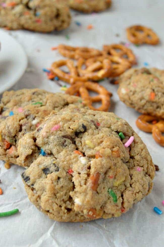 Everything But The Kitchen Sink Cookies