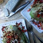 Strawberry Balsamic Wedge Salad