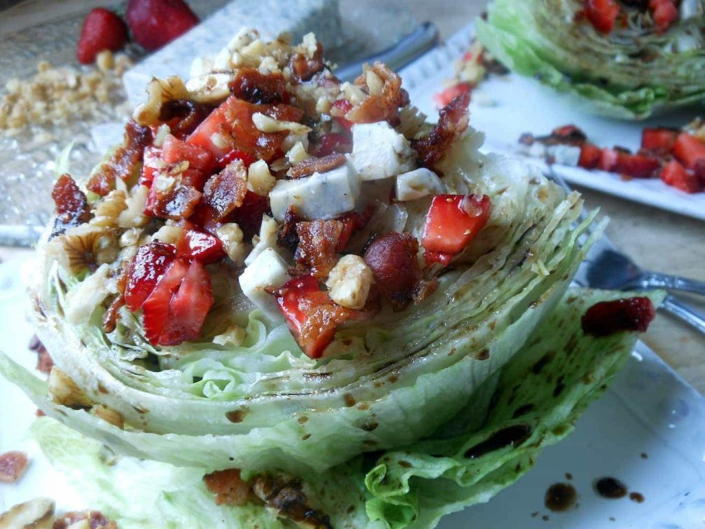 Strawberry Balsamic Wedge Salad
