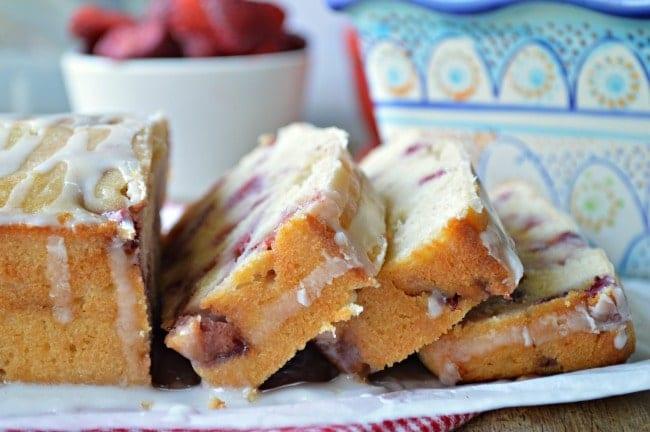 Strawberry Lemonade Quick Bread