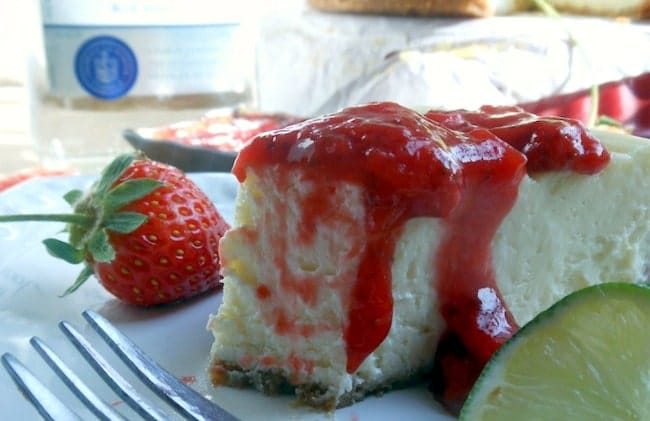 Cheesecake with Tequila