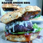 Bangin' Bacon Onion Burgers
