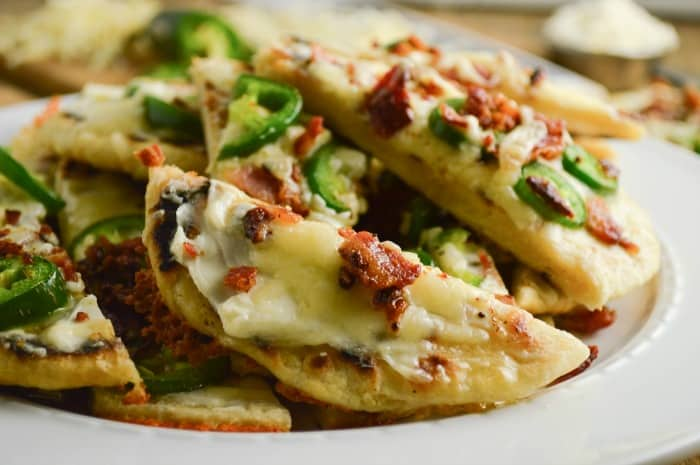 Jalapeno Popper Flatbread Recipe