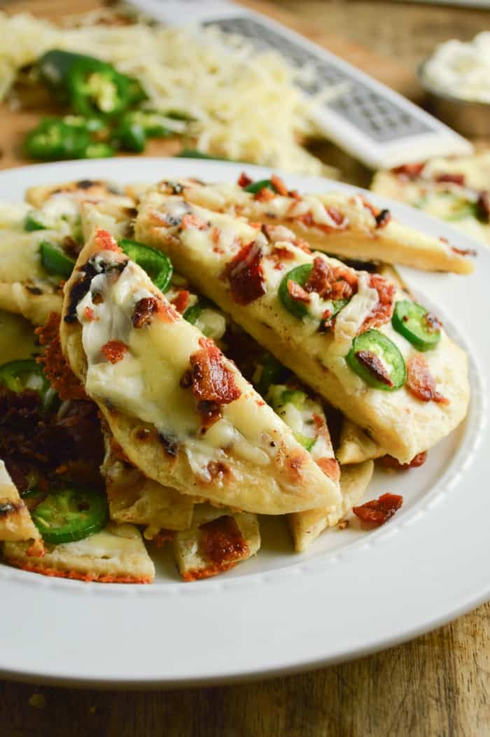 Jalapeno Popper Flatbreads