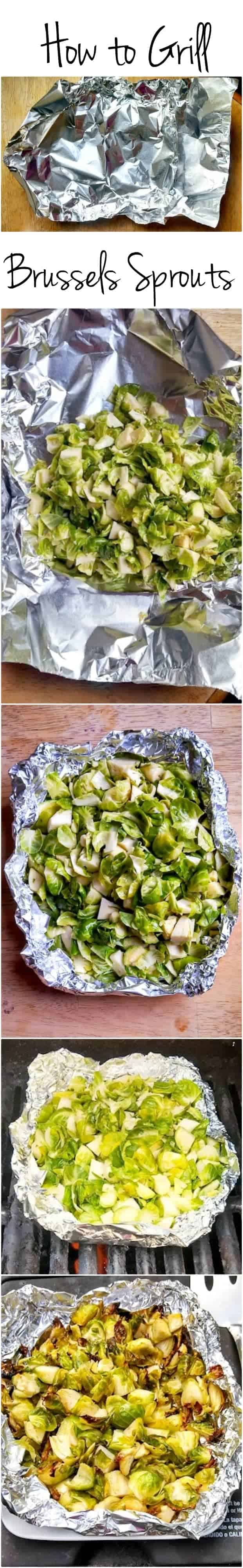 How to Grill Brussels Sprouts (or pretty much any vegetable) -- a recipe with no skewers (or skill) required.