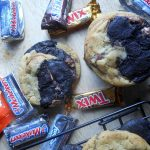 Candy Bar Swirl Cookies