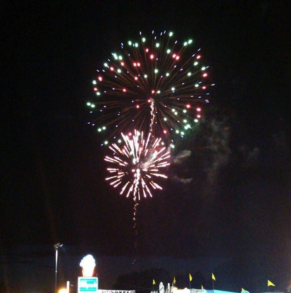 Manic Monday; Fireworks