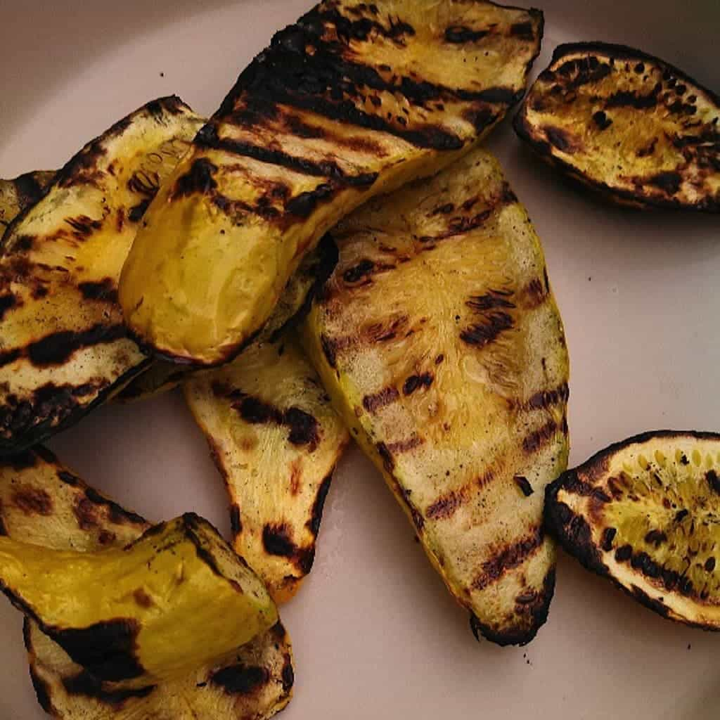 Grilled Squash; Summer Squash Recipes