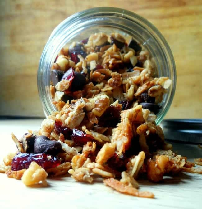 Maple and Brown Sugar Granola Recipe