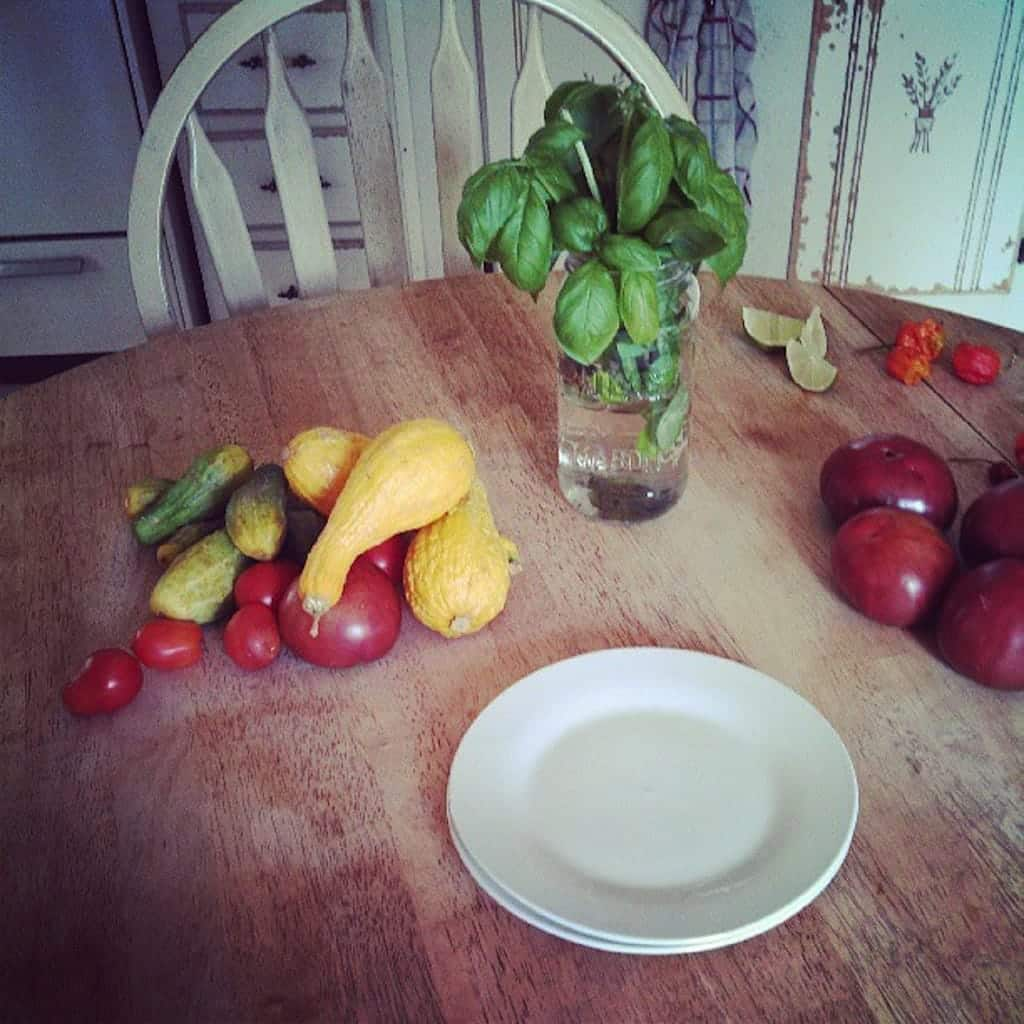 In My Kitchen; My Table