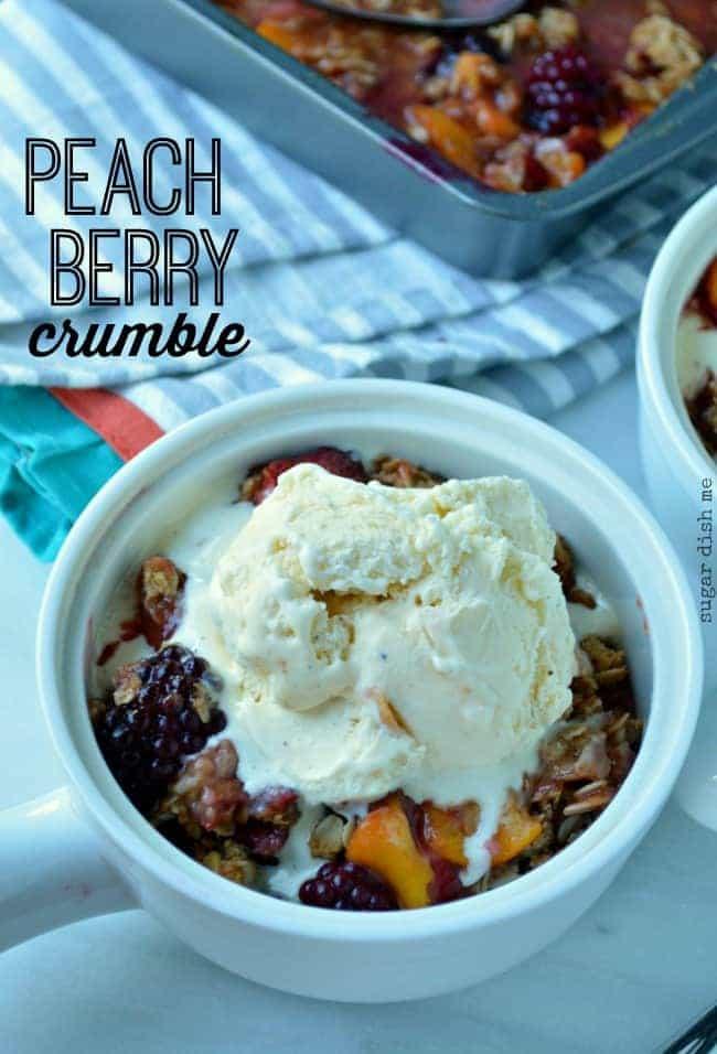 Peach Berry Crumble Recipe