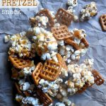 Caramel popcorn Pretzel Snack