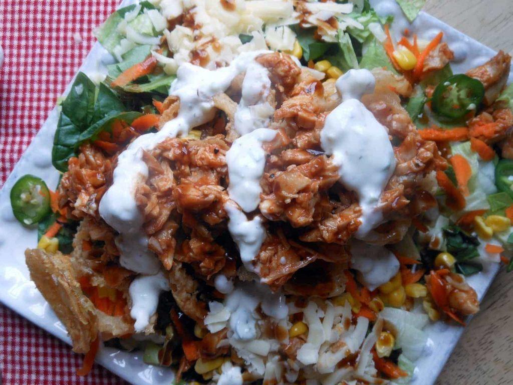 Chopped BBQ Chicken Salad