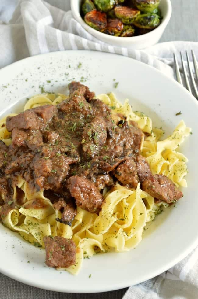 From Scratch Stew Beef Recipe