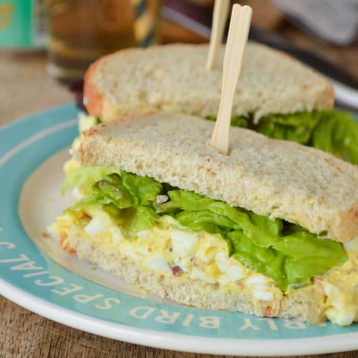 The Best Dang Egg Salad Ever