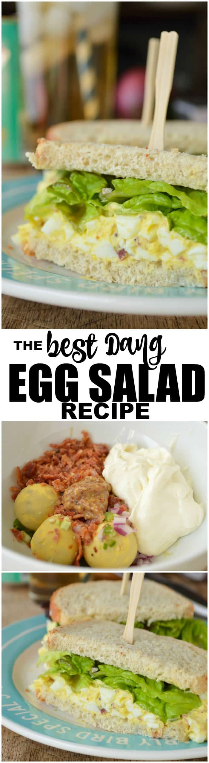 The Best Dang Egg Salad Recipe Ever