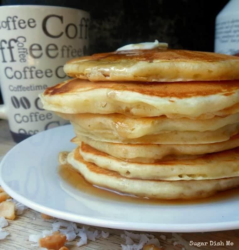Toasted Coconut Pancake Recipe