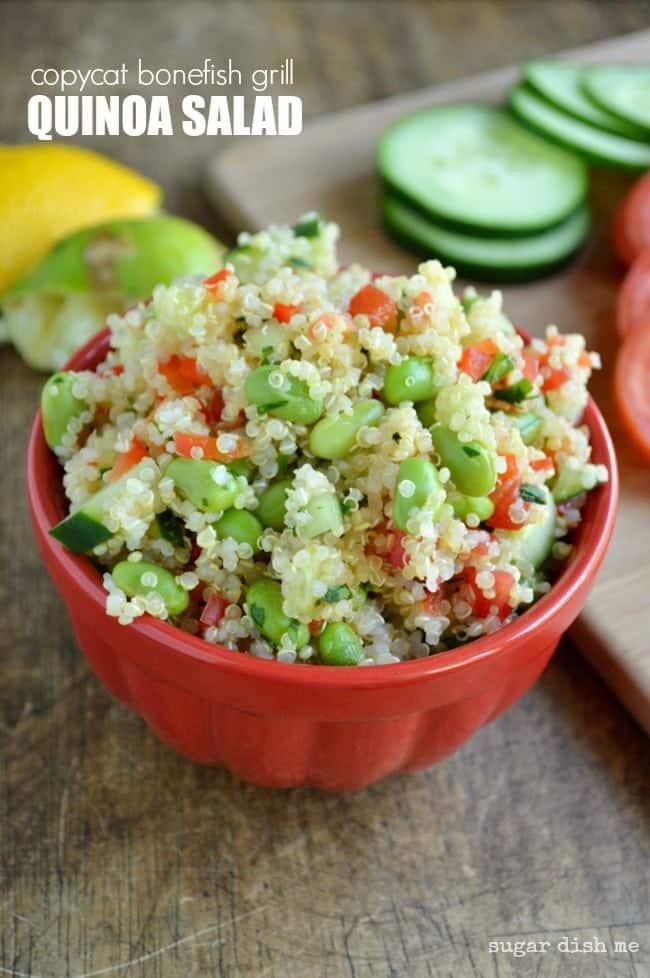 Copycat Bonefish Grill Quinoa Salad