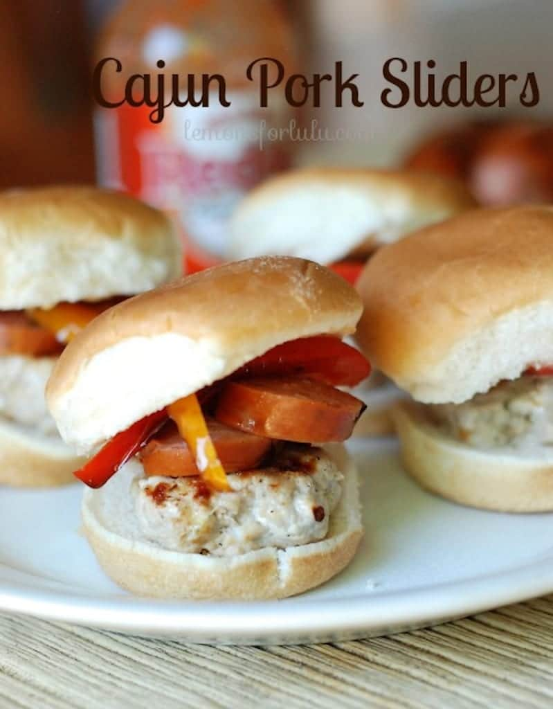 Cajun Pork Sliders