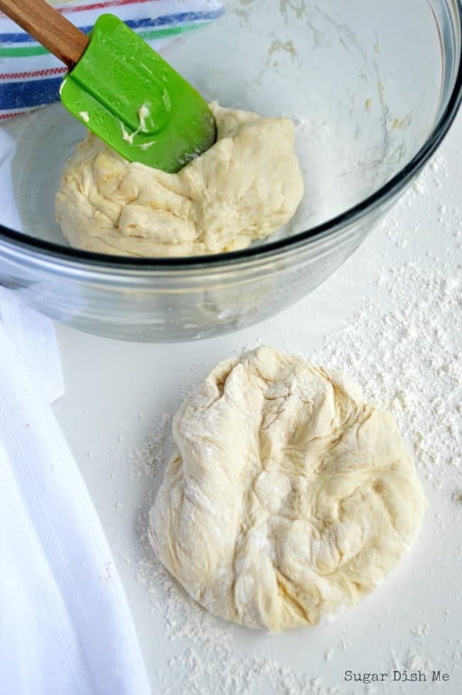 How to Make 10 Minute Pizza Dough From Scratch