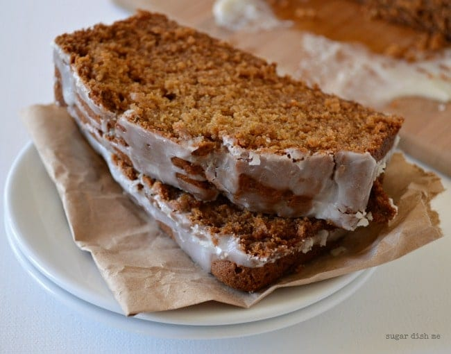 Apple Butter Spice Cake - Sugar Dish Me