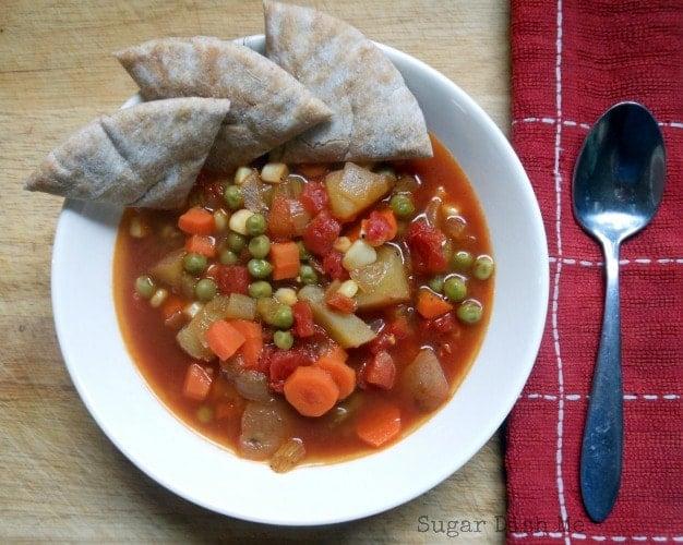 Homemade Fresh Vegetable Soup