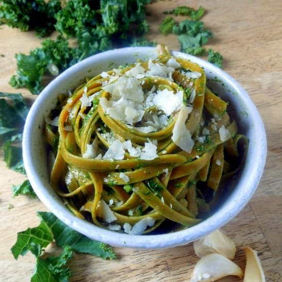 Pesto with Kale