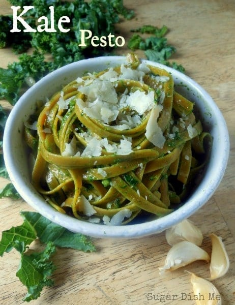 Kale Pesto - Sugar Dish Me