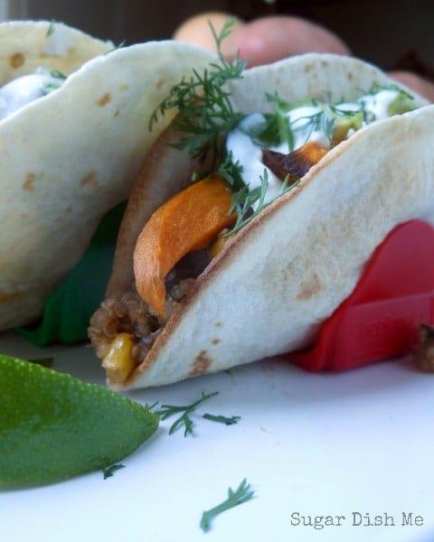 Smoky Sweet Potato Tacos