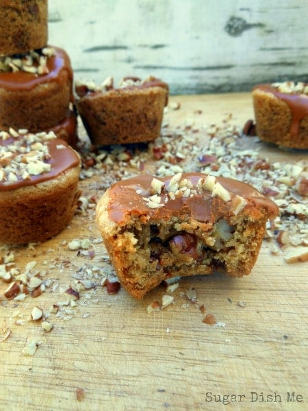Cinnamon Pecan Cookie Cups