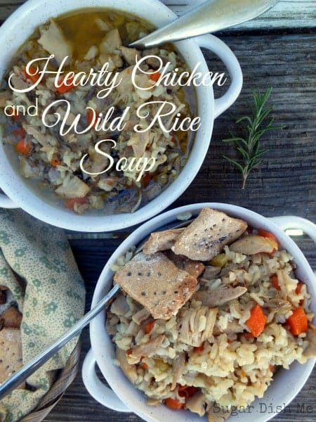 Hearty Chicken and Wild Rice Soup