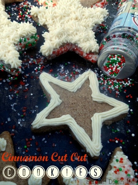 Cinnamon Cut Out Cookies