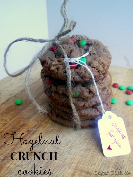 Hazelnut Crunch Cookies