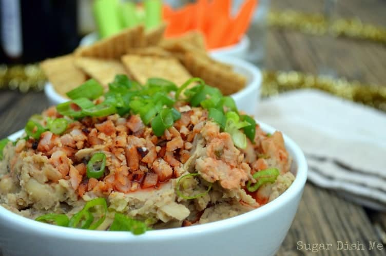 Black Eyed Pea Dip for New Year's
