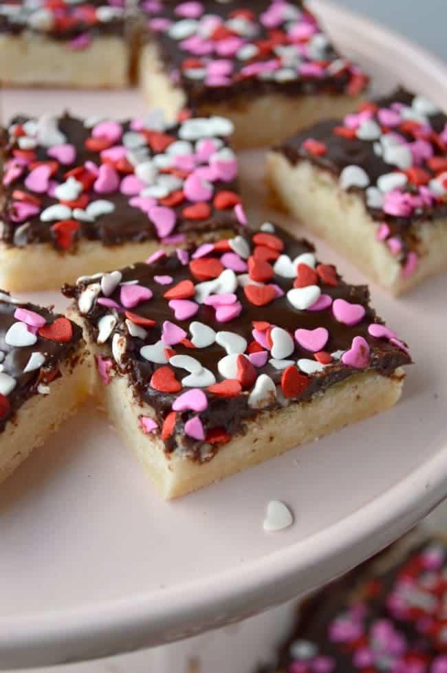 Chocolate Covered Shortbread Recipe