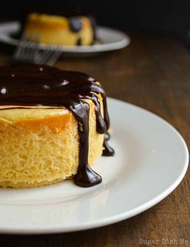 Bourbon Cheesecake with Chocolate