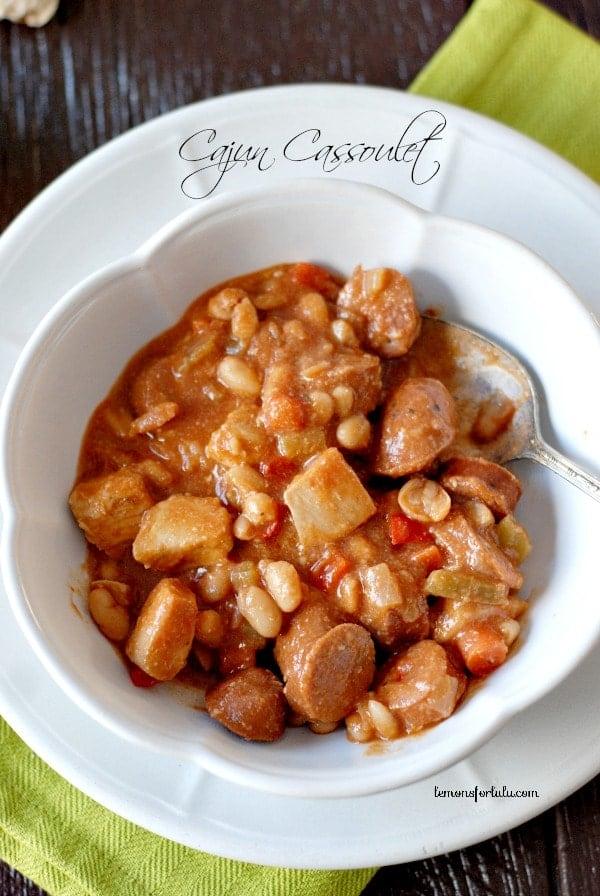 Cajun Chicken and Sausage Cassoulet