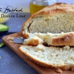 Classic Crusty Herbed Dinner Loafn