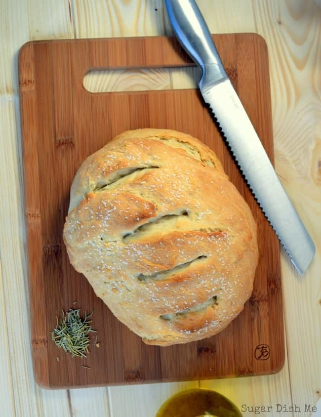 Crusty Herb Dinner Bread Recipe
