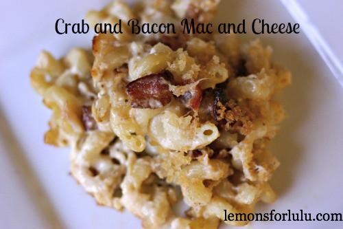 Crab and Bacon Mac n Cheese