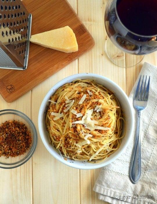 Lemon Herb Spaghetti