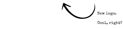 New logo arrow