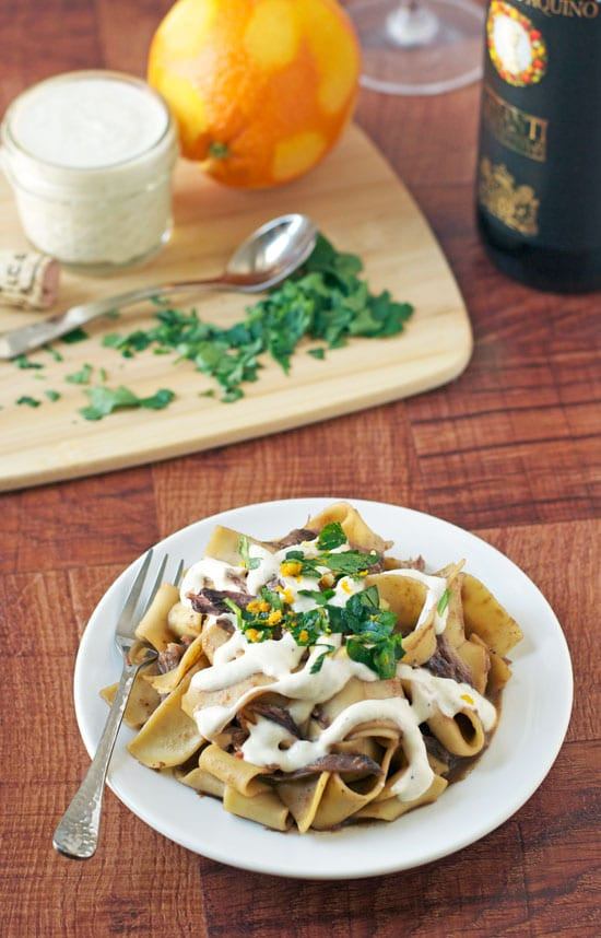 Braised Beef Pasta; Meal Plans Made simple