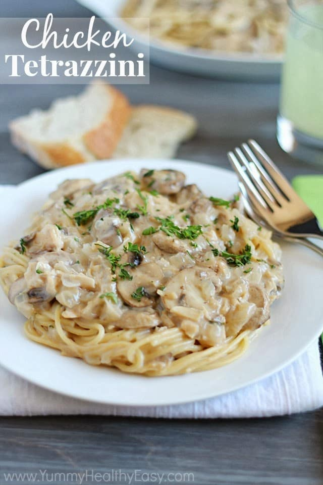 Chicken Tetrazzini; Meal Plans Made Simple