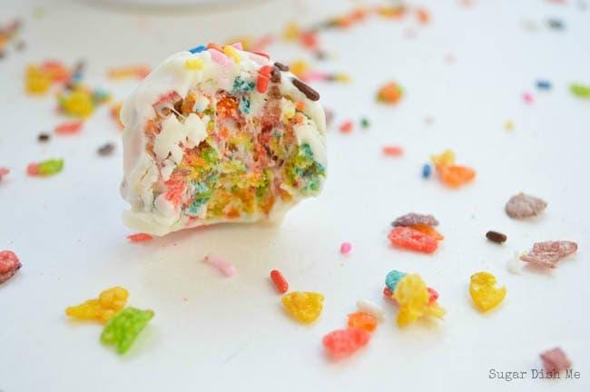 Rainbow Crunch Balls