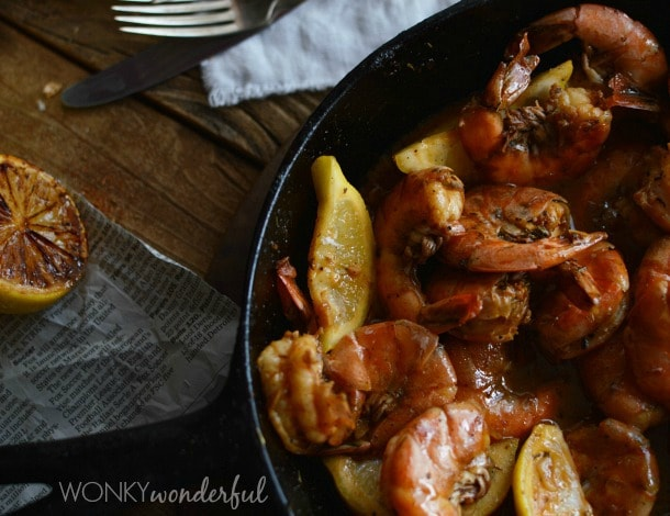BBQ Shrimp, New Orleans Style; Meal Plans Made Simple