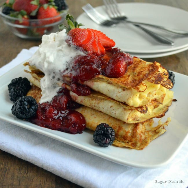 Easy Berry Blintz Recipe