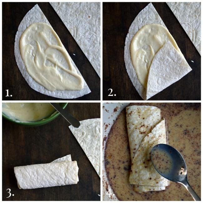 How to Make Berry Blintz Enchiladas