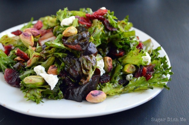 Blackberry Balsamic Vinaigrette Salad